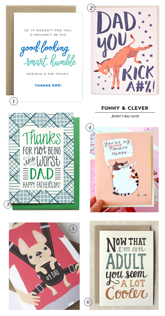 Funny Clever Fathers Day Cards Paper Crave