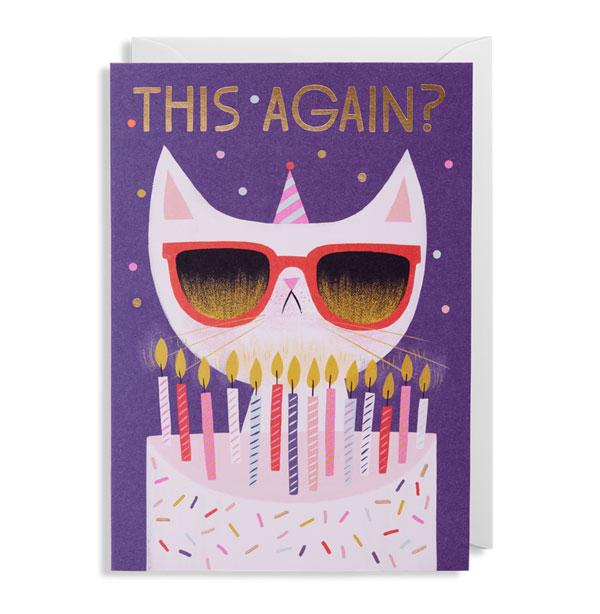 Illustrated Birthday Card by Allison Black for Lagom