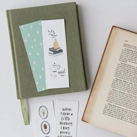 Illustrated & Hand Lettered Bookmarks from In the Daylight
