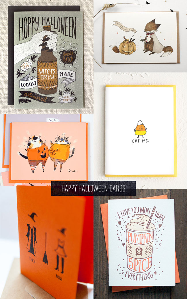 Sweet & Funny Halloween Cards