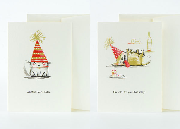 Modern Illustrated Birthday Cards From Card Nest