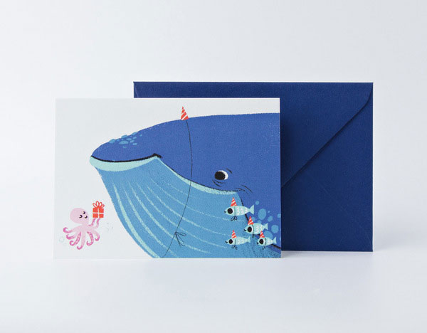 Whale of a Time by Carolina Buzio for Card Nest