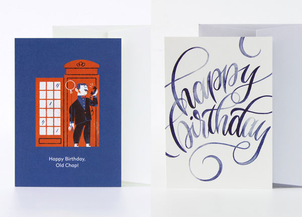 Birthday Cards by Lydia Nichols and Emily Van Hoff for Card Nest