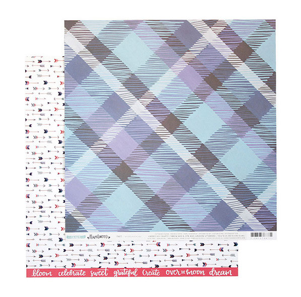 One Canoe Two Hazelwood Patterned Paper
