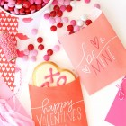 Free Printable Valentine's Day Treat Bags from Damask Love