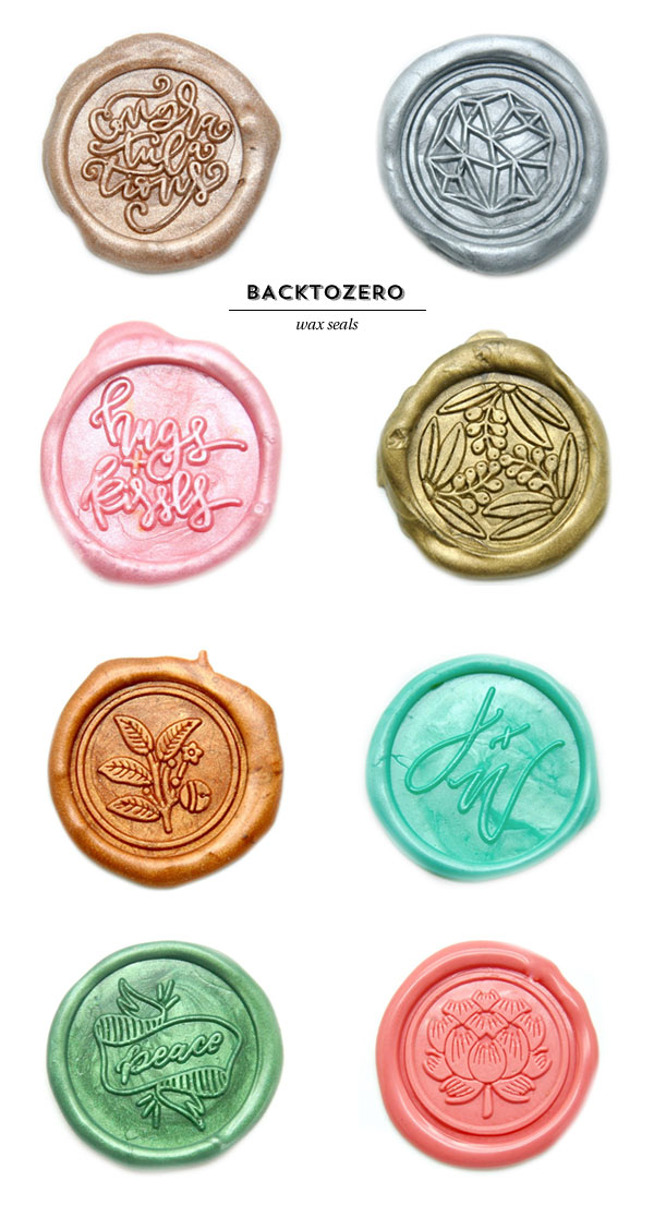 Wax Seals from Backtozero