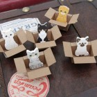 Mini Kitty Box House Sticky Notes