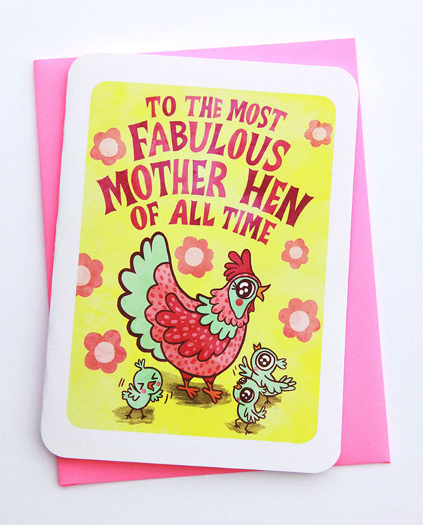 Mother Hen Card from My Zoetrope