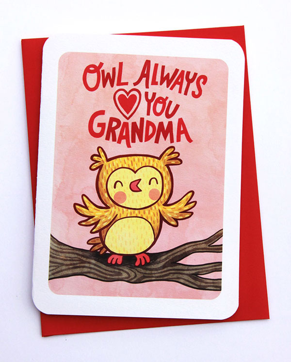 Owl Always Love You Grandma Card from My Zoetrope