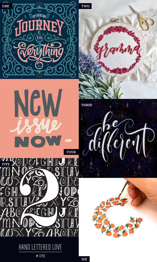 Hand Lettered Love #173