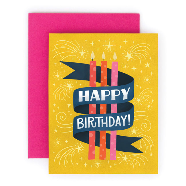 Hand Lettered Birthday Cards from Home Again Creative – Birthday Cards Creative