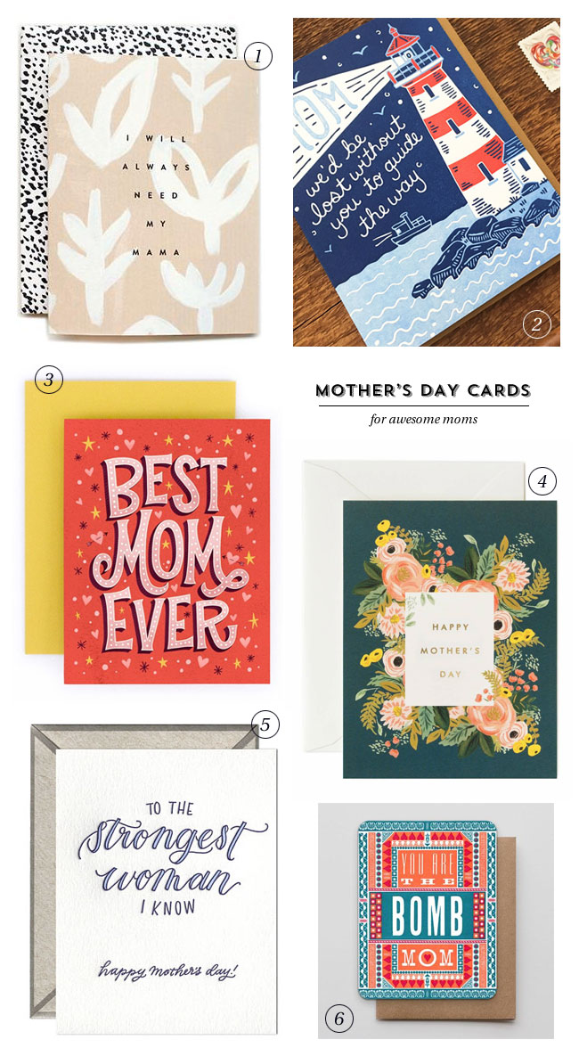 Mother's Day Cards for Awesome Moms