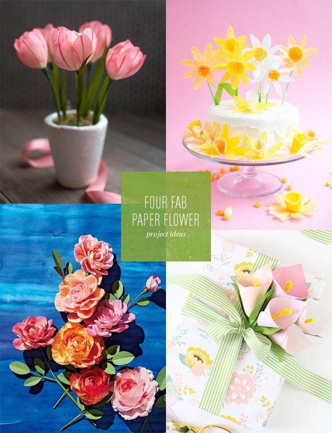 4 Fab Paper Flower Project Ideas