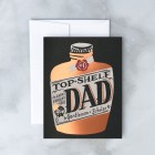 Top Shelf Dad Card from Idlewild Co.