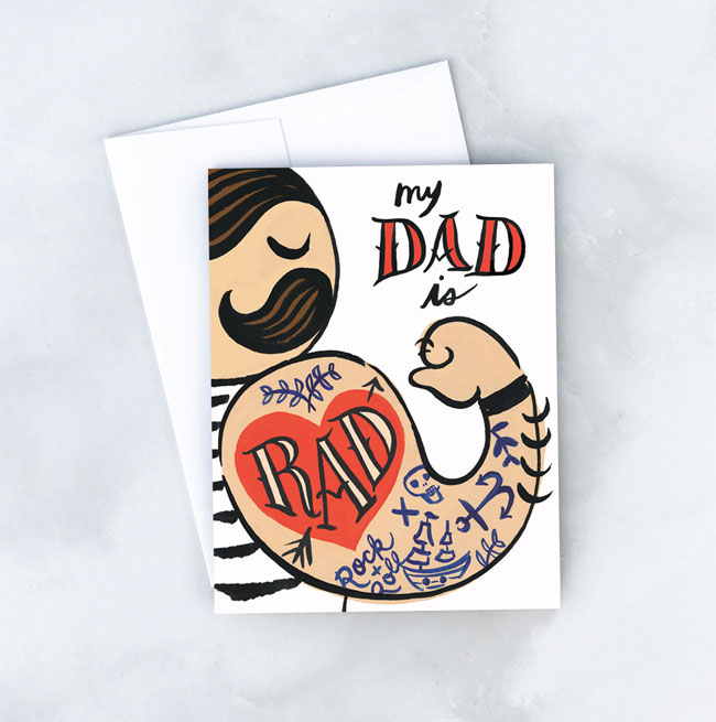 Father's Day Card from Idlewild Co.