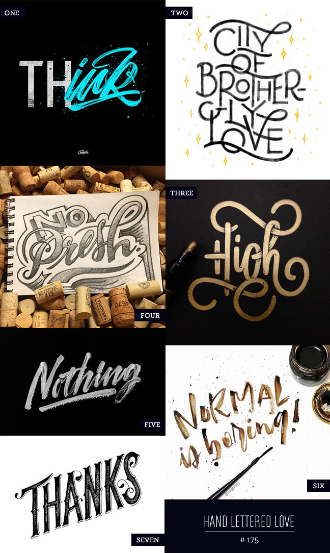 Hand Lettered Love #175