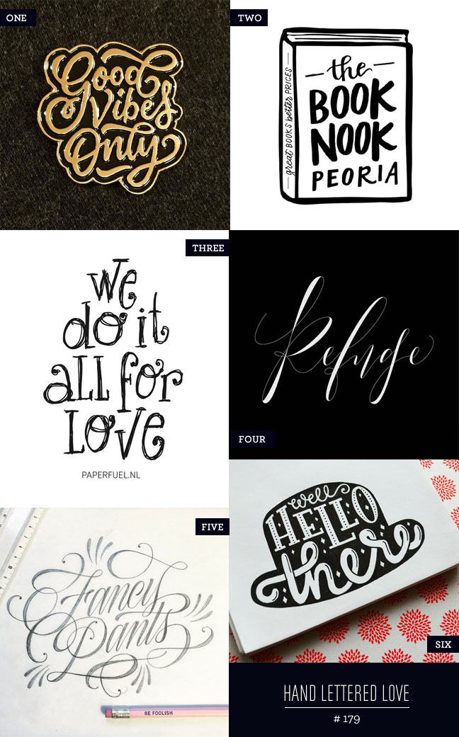 Hand Lettered Love #179