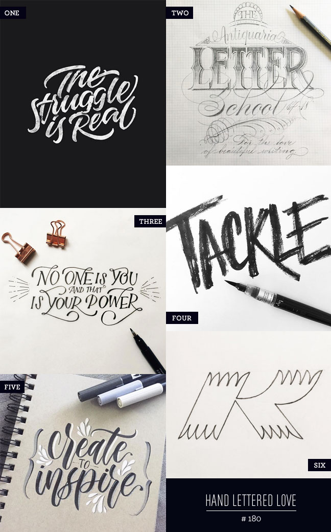 Hand Lettered Love #180
