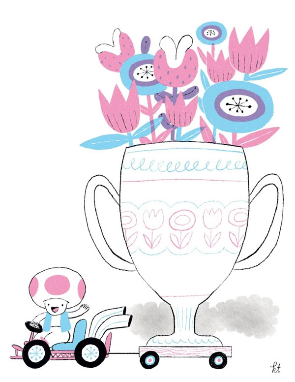 The Flower Cup by Katie Turner