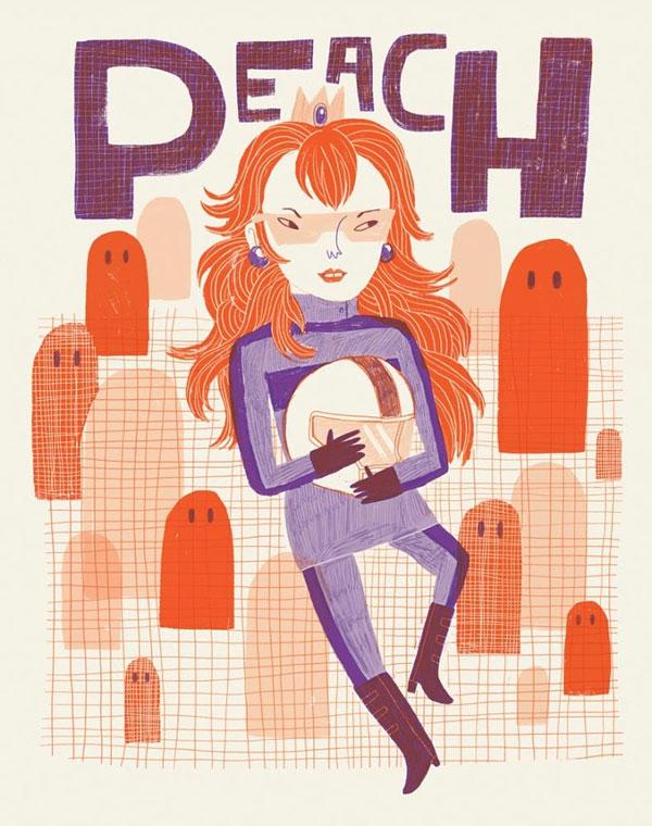 Peach by Lauren Lowen