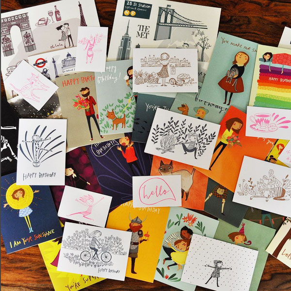 Pencil Joy Greeting Cards (@penciljoy)