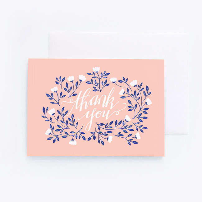 Thank You Card by Archer & Olive