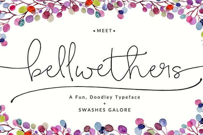 Bellwethers Font by Angie Makes