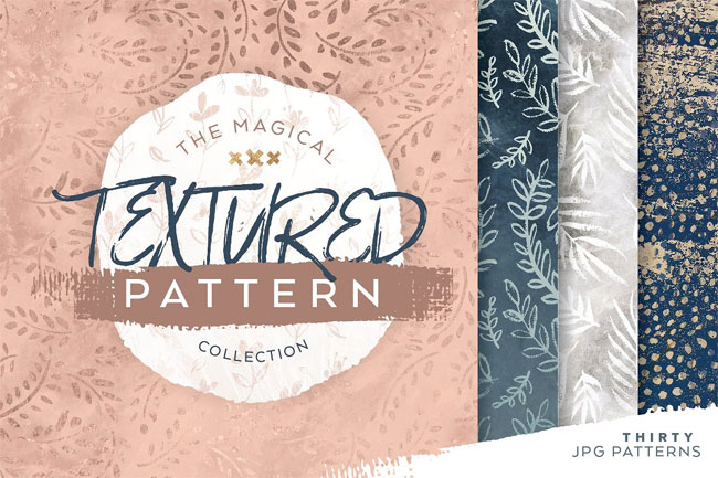 Magical Textured Pattern Collection from Anugraha Design