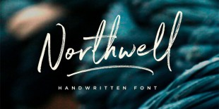 Northwell Font by Sam Parrett