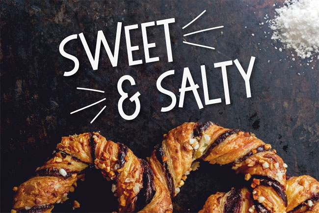 Sweet & Salty Font by Josh O.