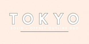 Tokyo Font by Jen Wagner Co.