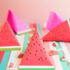 DIY Watermelon Pouches from Oh Happy Day