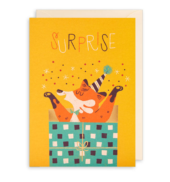 Surprise Birthday Card by Lydia Nichols for Lagom