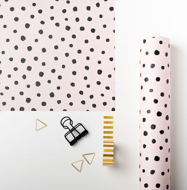 Polka Dots Gift Wrap from Sadler Jones
