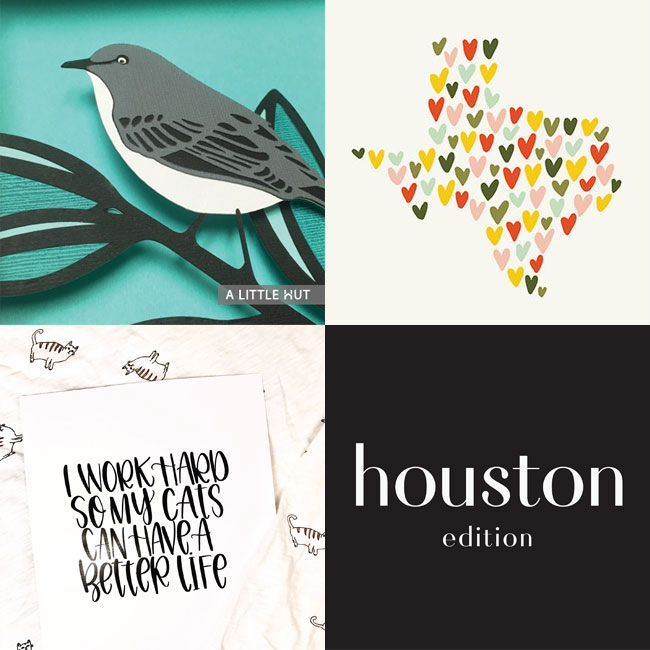 Hurricane Harvey Fundraising by Creatives