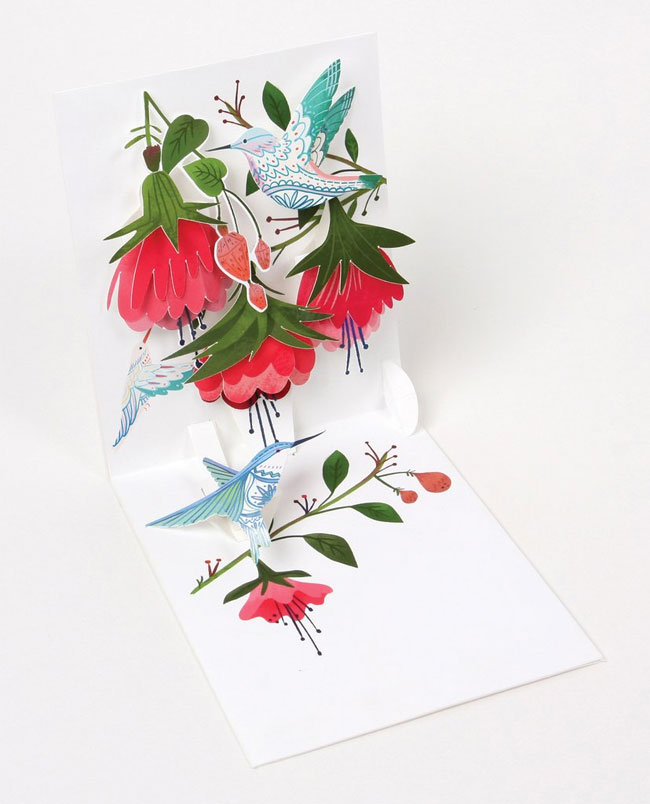 Floral Pop-Up Card from UWP Luxe