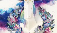 Unicorn Pop-Up Card from UWP Luxe