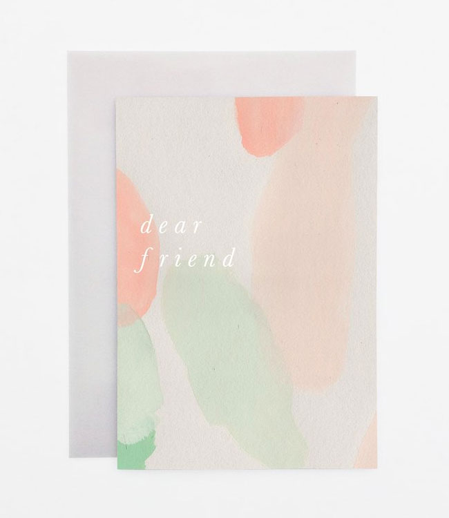 Watercolor + Foil Greeting Cards from Wanderlust Paper Co.