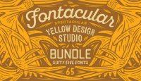 Fontacular at MyFonts Yellow Design Studio Bundle