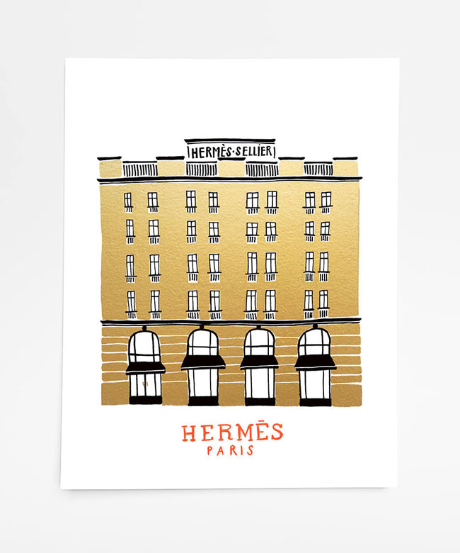 Hermes Art Print from On Lane Avenue