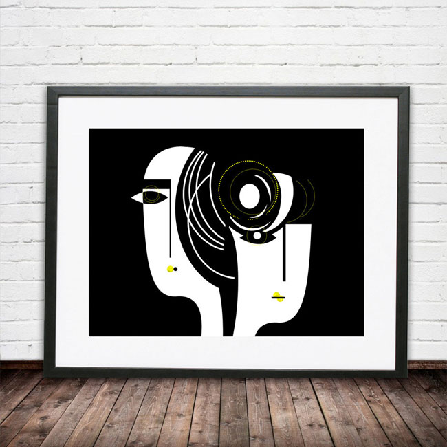 Bold, Abstract Art Prints from Soul Curry