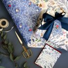 12 Days of Christmas Gift Wrap from Bespoke Press, featuring illustrations by Meghann Rader