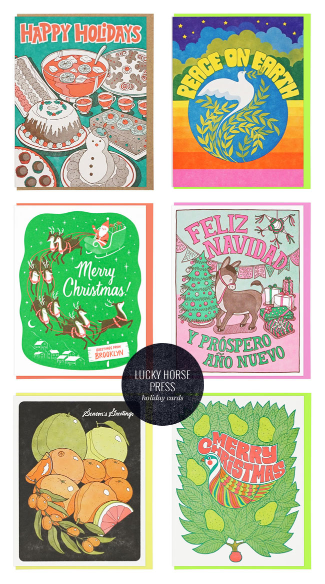 A Letterpress Christmas : Lucky Horse Press
