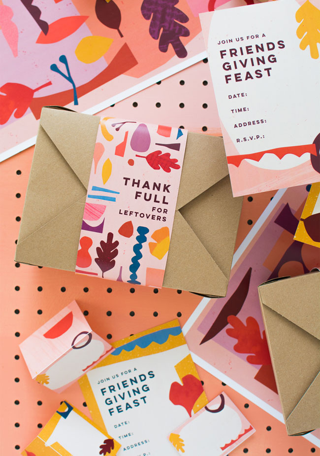 Free Friendsgiving Printables from The House That Lars Built #friendsgiving