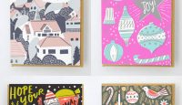 Illustrated Holiday Cards from Hello! Lucky