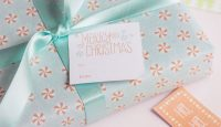 Free Printable Christmas Tags for Gifts from k.becca