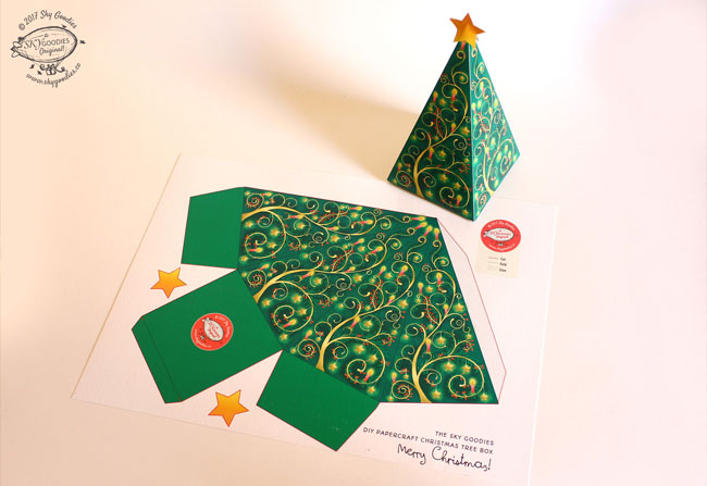 Sky Goodies Christmas Printables