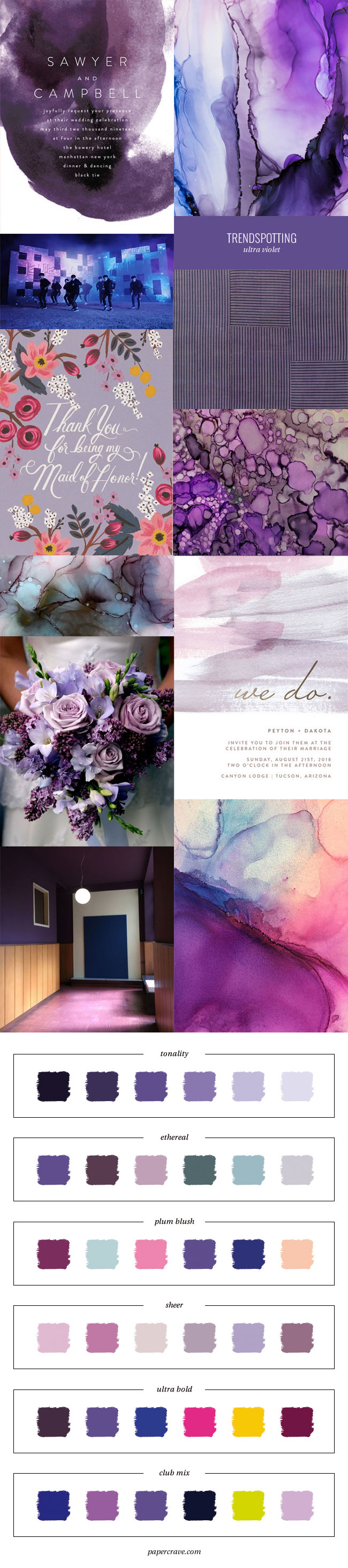 Trendspotting : Ultra Violet , Pantone 2018 Color of the Year