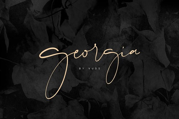 Chic modern calligraphy fonts for wedding invitations