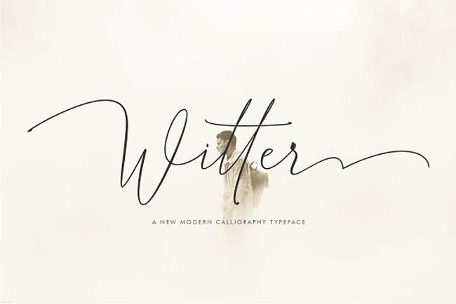 Witter Script Font by Danti Studio